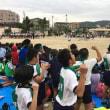 月曜日の給食と今日の小学校連合競技会