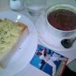【その他】喫茶店・チーズトーストとココア