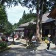酷暑の中、山中の木々に囲まれた大岩山日石寺へ・・・上市町・大岩山日石寺
