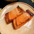 2018年11月8日   わさび寿司  肉キャベツのアンチョビ炒め    タコブツ   紅シャケハラス焼き