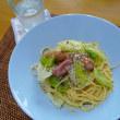 ウインナー&キャベツのペペロンチーノ
