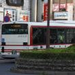 東野交通に導入された新型エルガの復刻塗装車