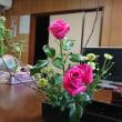 五月のお花 卯の花 バラ 小菊です(´∀`*)