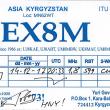 近着QSL EX8M 160m/CW