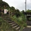廃線の三江線 静かな長谷駅(ながたにえき)