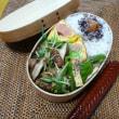 お弁当(ミートボール・水菜ソース)