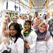 日本全面支援、インドネシア初の地下鉄 試乗会盛況、参加者一日で5万人