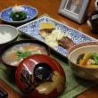 レシピ付き献立 鯛のソテー香りソース・きゅうりとタコの酢の物・小松菜のおろし和え・けんちん汁