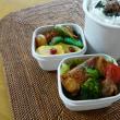 お弁当(豚肉の厚揚げ巻き巻きソテー・バルサミコソース)