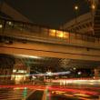 西新宿ジャンクション&車光跡