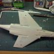 タカラレベル 1/72 RF-4E ファントムⅡを、つくる(その5)