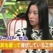 三浦女史「スリパー(草)は大量にいる」と語った フジTVで!