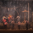 豊津神社 笹踊り