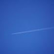 真っ青な空でした