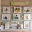 ちくご・ひらまつ産婦人科でミニ赤ちゃん写真展を展示させて頂きました