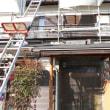 軽いスレート屋根に 耐震工事6日目