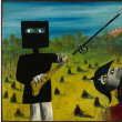 オーストラリアの画家シドニー・ノーランが生まれた。