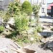 庭のブロック塀工事 11