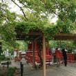 鶴岡八幡宮境内の旗上弁財天社
