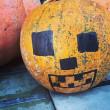 恒例のかぼちゃの重さあて クイズ はじまりました。
