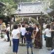 咲前神社の「夏越大祓」と知の輪くぐり
