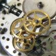エルメスの紳士物手巻き時計を修理です