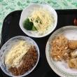 奥さんが居ないので簡単飯です。いただきます。