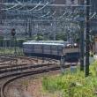 EF65-1128 ブルーな列車に装います