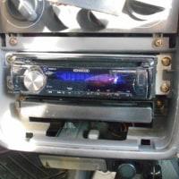 パジェロミニ H51A のオーディオを交換しました
