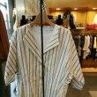 アナディス  ドルマン袖のストライプジャケット