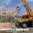 M様邸新築工事(いわき市小名浜) ~建て方~