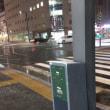 札幌駅前通の雪模様