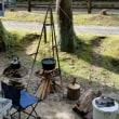 梅雨時の北山キャンプ場