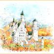 ノイシュヴァンシュタイン城の秋!?