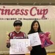 プリンセスカップに佐藤あり紗選手がやってきた!