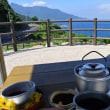 屋久島でコーヒータイム