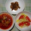 夕飯は豚生姜焼きでした