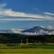 鳥海山ある風景(宮内付近)