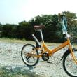 折り畳み自転車、試走