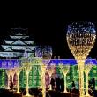 大阪城イルミナージュ 「フランス・ブルターニュ大公城エリア」