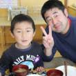 収穫感謝餅つき(3、4、5歳児)