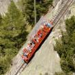 日記(12.16)ケーブル鉄道「勾配角度は最大110%」