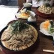 今日のお昼ご飯 東秩父村でざる蕎麦