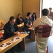 全国豪日協会のBen副会長が来浜しSamurai体験!たのしく国際親善を行いました。