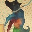 登る犬 お犬様展 @ Bar &Gallery 卍  2018年1月31日まで開催中