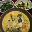 きのこたっぷり・味噌豆乳スープ