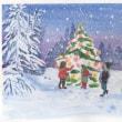 クリスマスカード作成