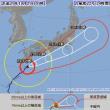 台風22号は、今 5…ほう、どう?