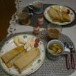 しらすトーストの朝ご飯(お彼岸のこと)