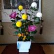 女将さんがいけた花です。うすい山荘